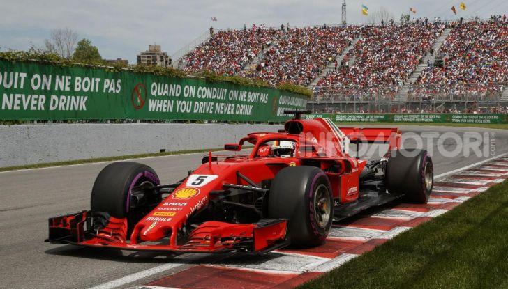 F1 2019 GP Canada, Montreal: la Ferrari risorge con Leclerc davanti a Vettel, Hamilton a muro - Foto 6 di 14