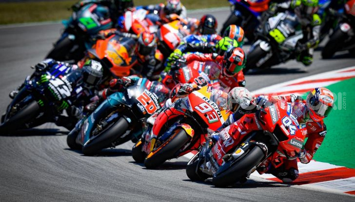 MotoGP 2019, Test Barcellona: Yamaha al top con Vinales e Morbidelli davanti a Marquez. Fuori dai primi dieci Dovizioso e Rossi - Foto 1 di 23