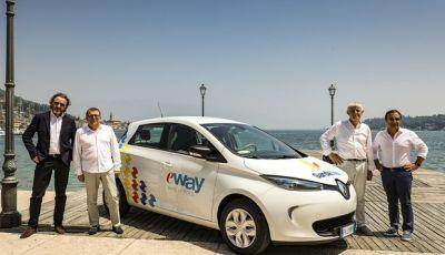 Car sharing sul Lago di Garda con Renault Zoe ed E-Way