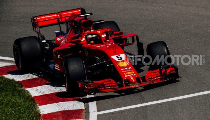F1 2019 GP Canada, Montreal: la Ferrari risorge con Leclerc davanti a Vettel, Hamilton a muro - Foto 5 di 14