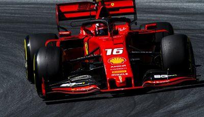 F1 2019 GP Austria, qualifiche: Leclerc porta in vetta la Ferrari e riscrive il record del Red Bull Ring. Secondo Hamilton, problemi per Vettel