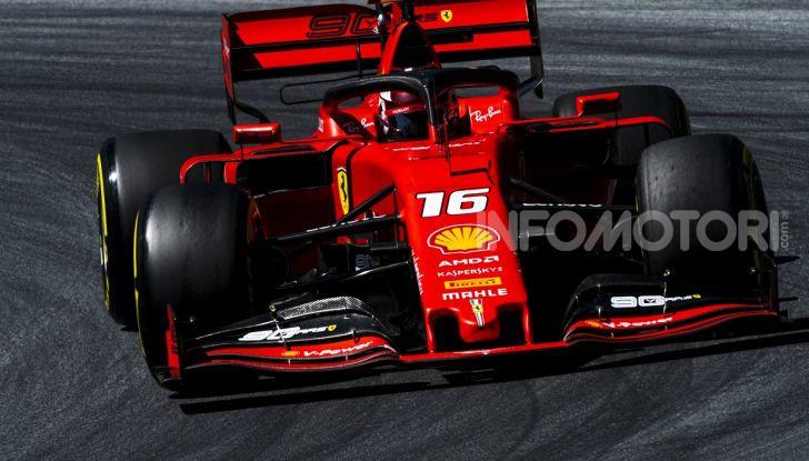 F1 2019 GP Austria, Red Bull Ring: Leclerc e la Ferrari al comando delle libere; Hamilton quarto, Vettel sfiora l'incidente - Foto 7 di 17