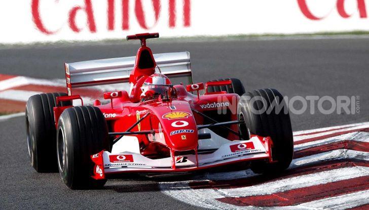 F1: ad Abu Dhabi sarà messa all'asta la Ferrari F2002 di Michael Schumacher - Foto 4 di 10