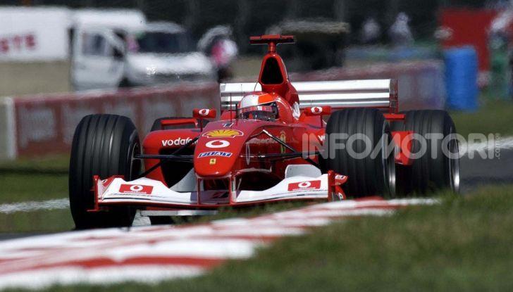 F1: ad Abu Dhabi sarà messa all'asta la Ferrari F2002 di Michael Schumacher - Foto 7 di 10