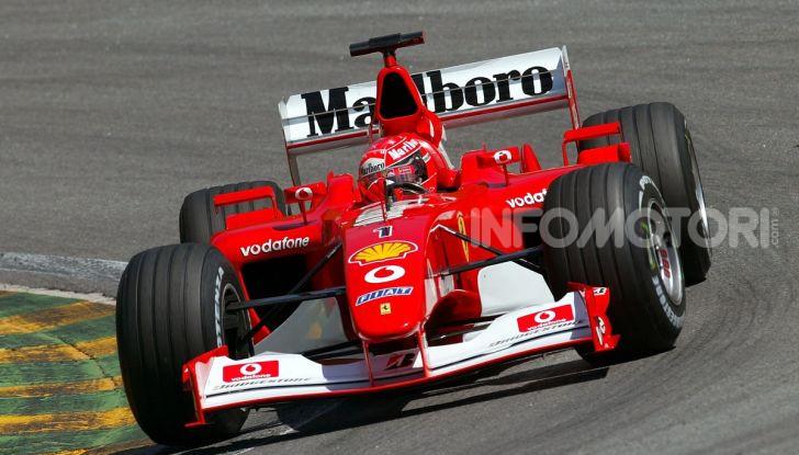 F1: ad Abu Dhabi sarà messa all'asta la Ferrari F2002 di Michael Schumacher - Foto 6 di 10