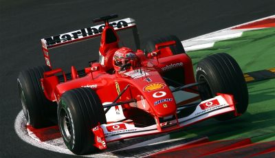 F1: ad Abu Dhabi sarà messa all'asta la Ferrari F2002 di Michael Schumacher