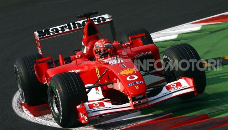 F1: ad Abu Dhabi sarà messa all'asta la Ferrari F2002 di Michael Schumacher - Foto 1 di 10