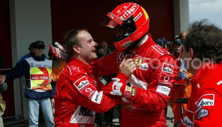 F1: ad Abu Dhabi sarà messa all'asta la Ferrari F2002 di Michael Schumacher - Foto 10 di 10