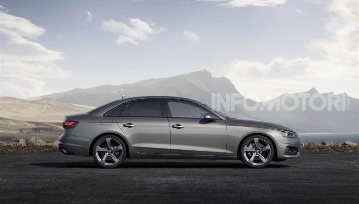 Audi A4 2019: sportiva e con più tecnologia - Foto 10 di 11