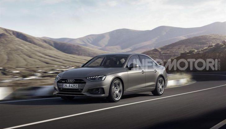 Audi A4 2019: sportiva e con più tecnologia - Foto 7 di 11