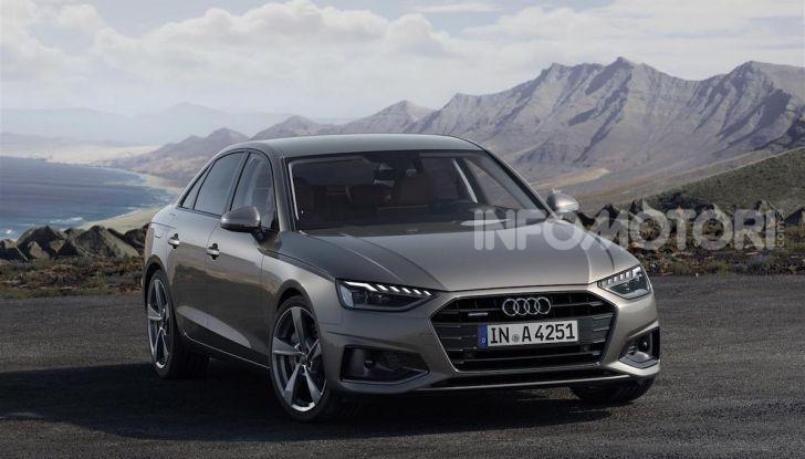 Audi A4 2019: sportiva e con più tecnologia - Foto 8 di 11