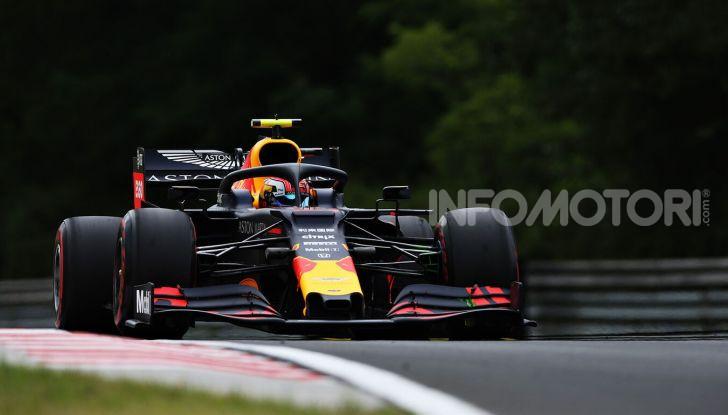 F1 2019, GP d'Ungheria: Max Verstappen firma la prima pole della carriera all'Hungaroring - Foto 6 di 14