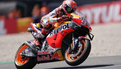 MotoGP 2019 GP del Sachsenring: Marquez al top, Petrucci davanti a Dovizioso, Rossi decimo