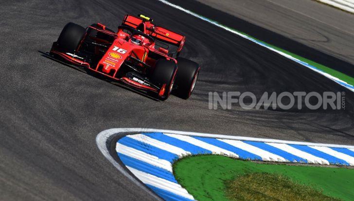 F1 2019 GP di Germania: Leclerc e la Ferrari brillano nelle libere di Hockenheim davanti a Vettel e Hamilton - Foto 11 di 17