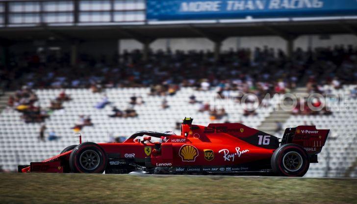 F1 2019 GP di Germania: Leclerc e la Ferrari brillano nelle libere di Hockenheim davanti a Vettel e Hamilton - Foto 12 di 17