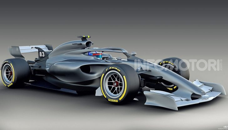 F1: prima bozza del nuovo regolamento per la Formula 1 del 2021 - Foto 5 di 10