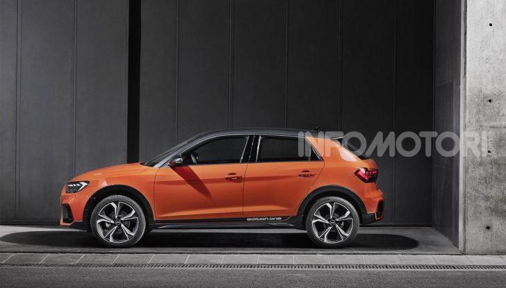 Audi A1 citycarver, ecco la all terrain da città - Foto 4 di 7