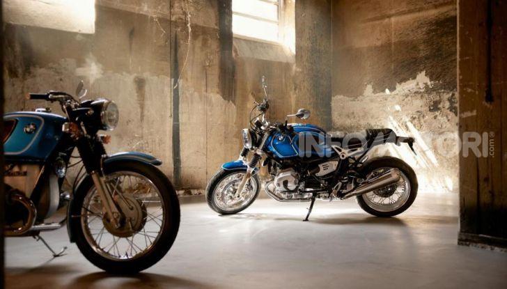 BMW R nineT/5: una special per festeggiare 50 anni di produzione nello stabilimento di Berlino Spandau - Foto 1 di 6