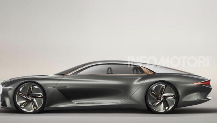 Bentley EXP 100 GT festeggia i 100 anni del brand - Foto 2 di 9