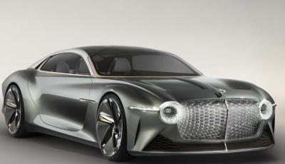 Bentley EXP 100 GT festeggia i 100 anni del brand