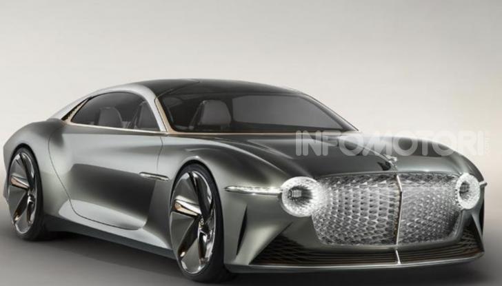Bentley EXP 100 GT festeggia i 100 anni del brand - Foto 3 di 9