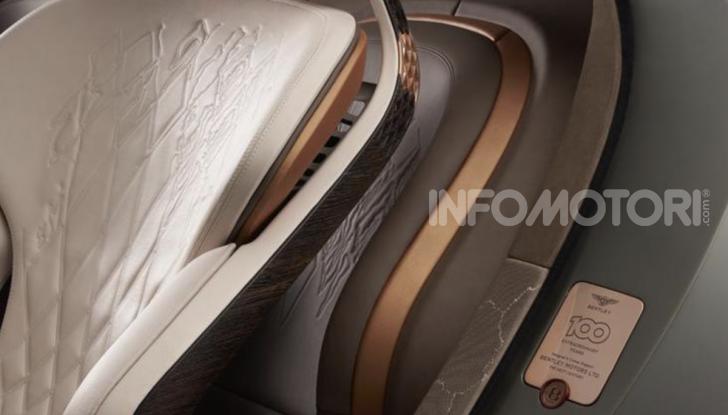 Bentley EXP 100 GT festeggia i 100 anni del brand - Foto 7 di 9