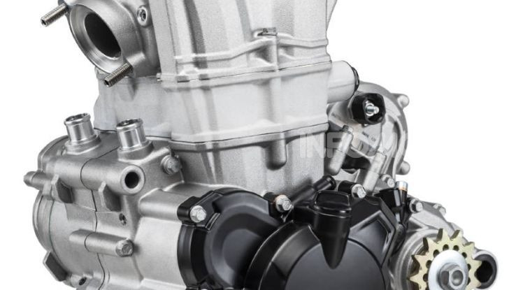 Beta Enduro RR 2020 basamento motore 4 tempi