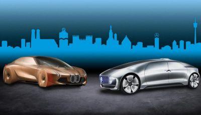 Bmw e Daimler alleati nello sviluppo della guida autonoma