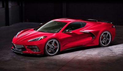 Chevrolet Corvette Stingray: nuovo motore e nuova trasmissione per prestazioni al top
