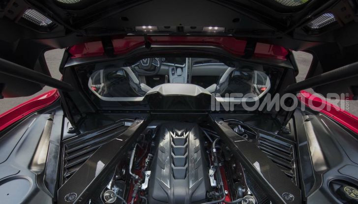 Chevrolet Corvette Stingray: nuovo motore e nuova trasmissione per prestazioni al top - Foto 3 di 6
