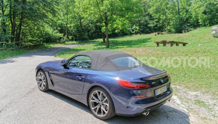 BMW Z4 2019 capote in tela