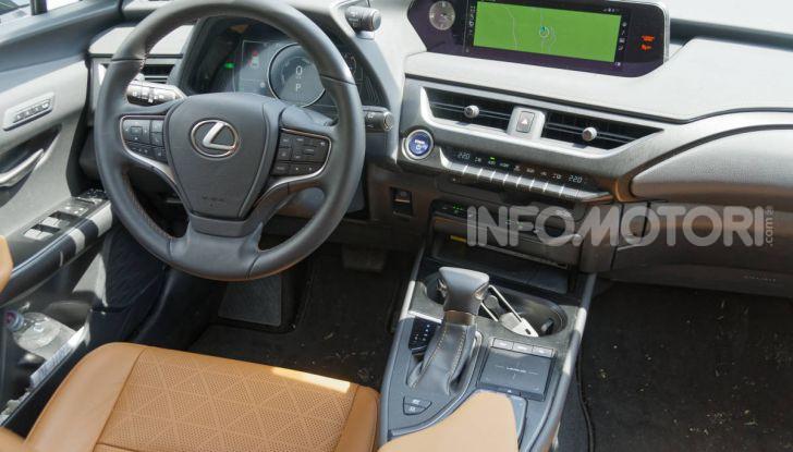 Lexus UX interni