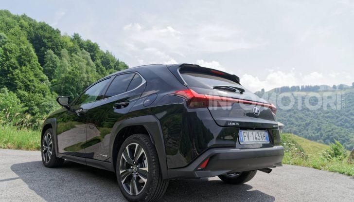 [VIDEO] Lexus UX 250h, il premium hybrid ha l'asso nella manica! - Foto 58 di 58