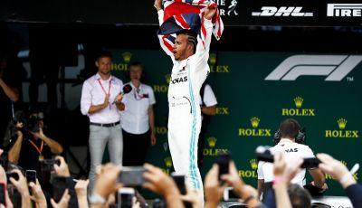 F1 2019 GP di Gran Bretagna: Hamilton invincibile a Silverstone piega Bottas e Leclerc. Vettel centra Verstappen e sbaglia tutto