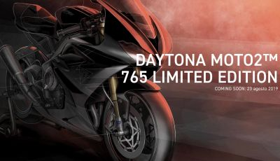 Triumph Daytona 765 2020: arriva la nuova sportiva di Hinckley