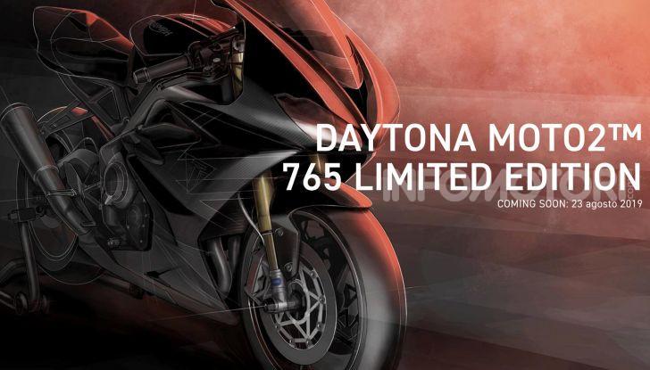 Triumph Daytona 765 2020: arriva la nuova sportiva di Hinckley - Foto 1 di 10
