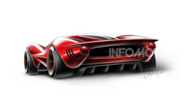De Tomaso P72, la nuova supercar tra passato e futuro - Foto 17 di 18