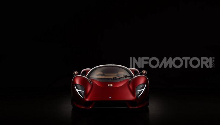 De Tomaso P72, la nuova supercar tra passato e futuro - Foto 4 di 18