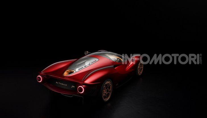 De Tomaso P72, la nuova supercar tra passato e futuro - Foto 10 di 18
