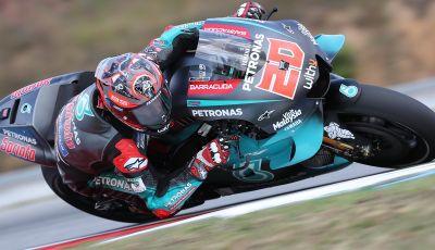 MotoGP 2019, GP della Repubblica Ceca: Quartararo in vetta nelle libere di Brno davanti a Marquez, Rossi nono