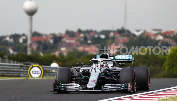 F1 2019, GP d'Ungheria: Gasly al top nelle FP2, ma è Hamilton il più veloce delle libere del venerdì - Foto 4 di 14