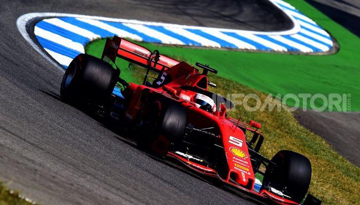 F1 2019 GP di Germania: Leclerc e la Ferrari brillano nelle libere di Hockenheim davanti a Vettel e Hamilton - Foto 13 di 17