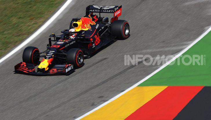 F1 2019, GP di Germania: Verstappen vince ad Hockenheim una gara pazza davanti a Vettel e alla Toro Rosso di Kvyat. Leclerc out, Hamilton 11esimo - Foto 2 di 17