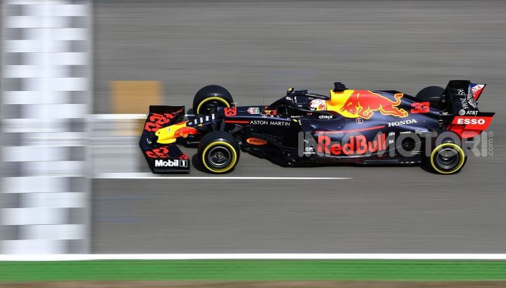 F1 2019, GP di Germania: Verstappen vince ad Hockenheim una gara pazza davanti a Vettel e alla Toro Rosso di Kvyat. Leclerc out, Hamilton 11esimo - Foto 3 di 17