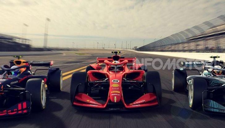 F1: prima bozza del nuovo regolamento per la Formula 1 del 2021 - Foto 1 di 10