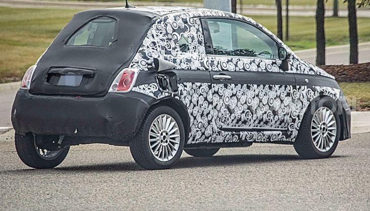 Fiat 500 EV 2020, la prima auto elettrica del Lingotto - Foto 6 di 7