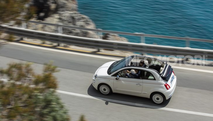 Fiat 500 Dolcevita: un modello speciale per festeggiare 62 anni di storia - Foto 5 di 12