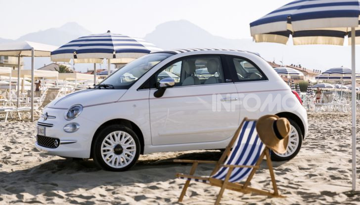 Fiat 500 Dolcevita: un modello speciale per festeggiare 62 anni di storia - Foto 7 di 12
