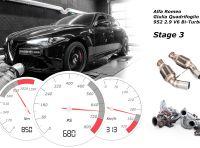 Il tuning Alfa Romeo Giulia Quadrifoglio da 680CV e 850Nm di coppia