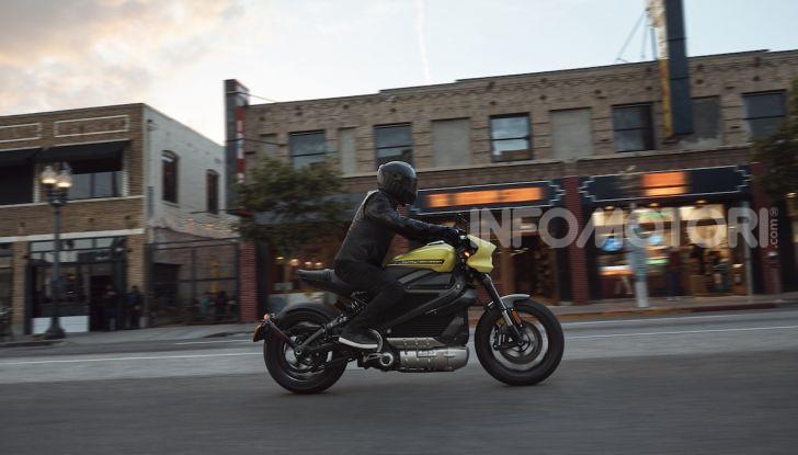Harley Davidson LiveWire, la prima elettrica di Milwaukee arriva in Italia - Foto 7 di 15
